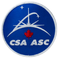 Canadian Space Agency - CSA/ASC Embroidered Patch